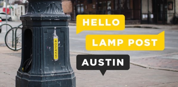 http://www.artallianceaustin.org/projects/hello-lamp-post