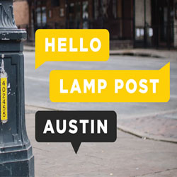 Hello Lamp Post Austin 2015