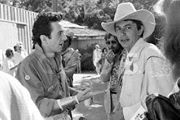 Joe Ely and Joe Strummer