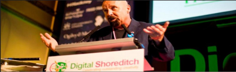 Fred Schmidt, Keynote Speaker at Digital Shoreditch and AHU Chairman Austin Hackney United Committee